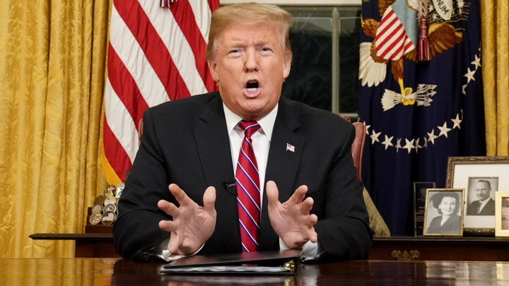 APTOPIX Government Shutdown Trump